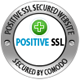 SSL Security Certificate provided by Comodo